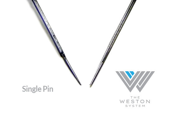 weston difference needles